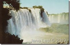 Iguacu Falls, Brazil Postcard pg. 1