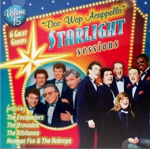Doo Wop Acappella Starlight Sessions - Volume 15 - Front Cover