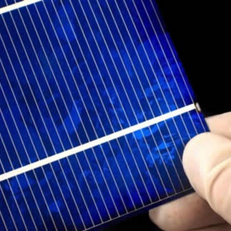 Sharp crea la celda solar más eficiente del planeta con un 36.9 por ciento de eficiencia