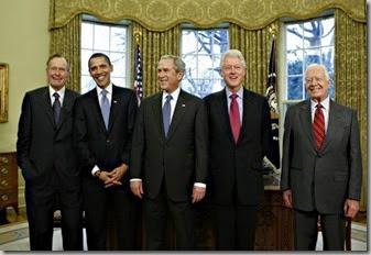 5presidents-bushobamabushclintoncarter