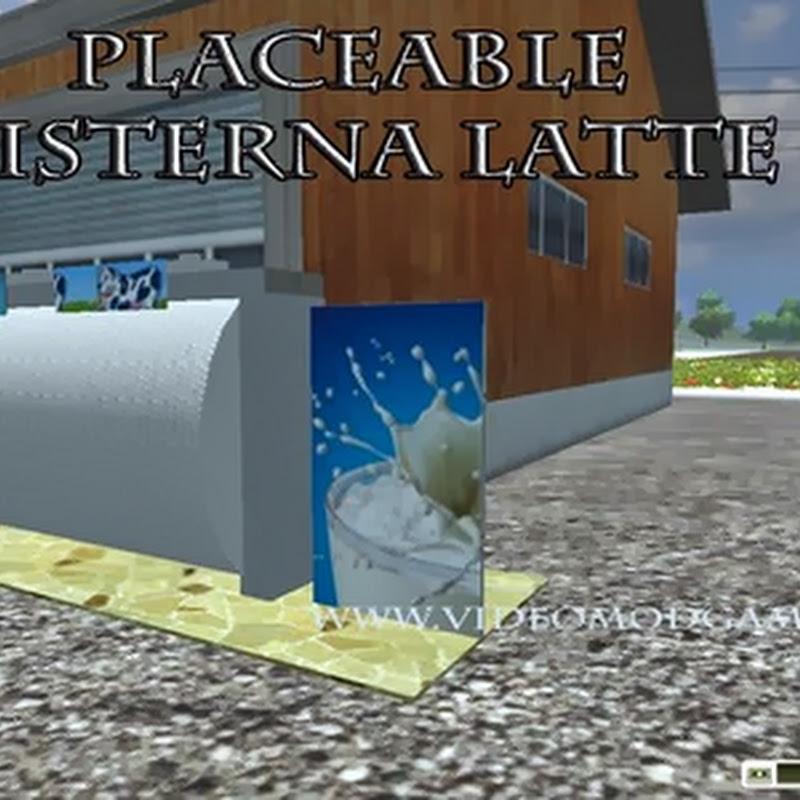 Farming simulator 2013 - Placeable Cisterna latte