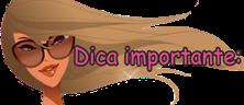 DICA IMPORTANTE
