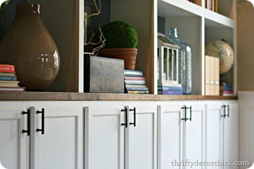 DIY Built Ins Cabinets As Bases