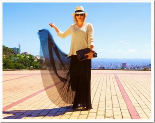 inventando-moda-saias-plissadas-longa-preta