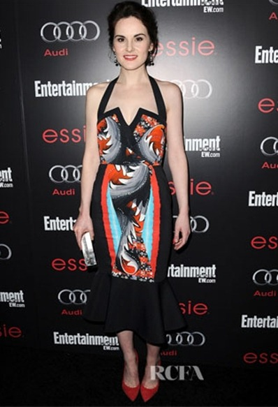 Michelle-Dockery-In-Peter-Pilotto-Entertainment-Weekly's-Pre-SAG-Awards-Party