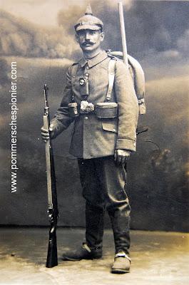 Pioneer from Kgl. Sächs. 2. Pionier-Bataillon Nr. 22
