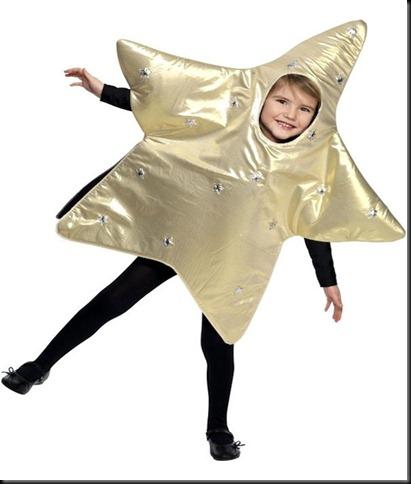 disfraz para navidad de estrella