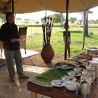 Dunia Camp, Frühstücksbüffet © Foto: Angelika Krüger | Outback Africa Erlebnisreisen