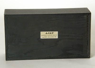 Abe Ajay Module Metric plastic sculpture back
