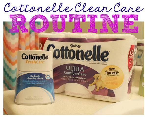 Cottonelle Clean Care Routine #CtnlCareRoutine #pmedia #spon GingerSnapCrafts.com