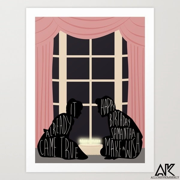 16 Candles Art Print by August Decorous via allonsykimberly.com