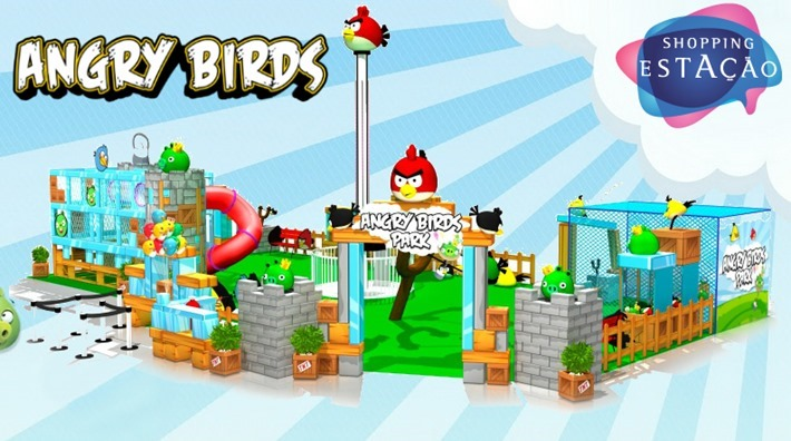 parque angry birds no shopping