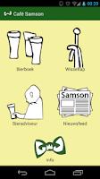 Screenshot of Café Samson