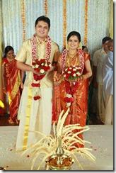 Balachandra Menon daughter Bhavana marriage photo3