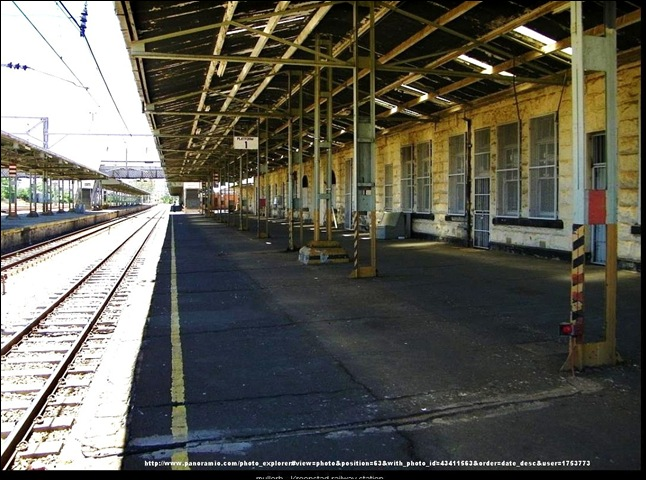 KROONSTAD BEFORE STATION OCT24 2012