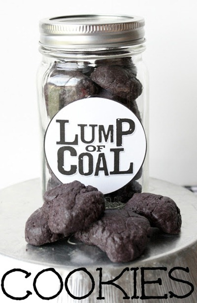 Lump of Coal Cookies at Make Bake Celebrate