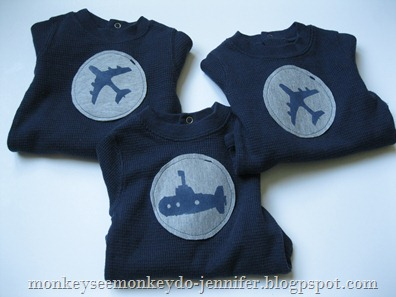 plane and submarine onesies (10)