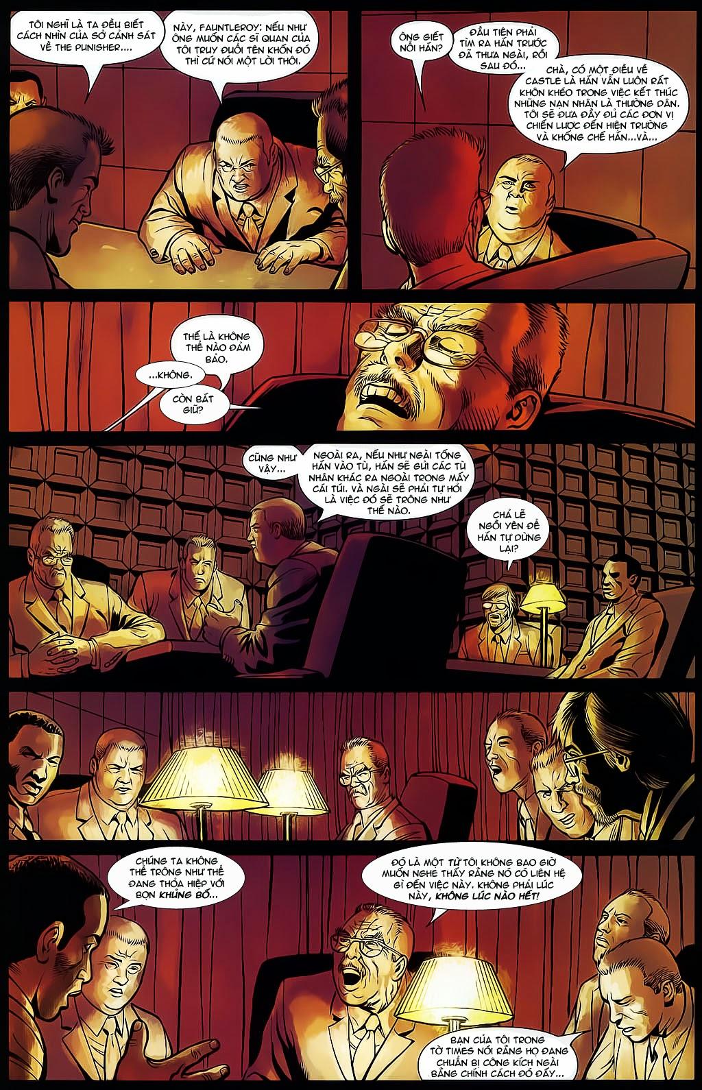 The Punisher: Trên là Dưới & Trắng là Đen chap 4 - Trang 14