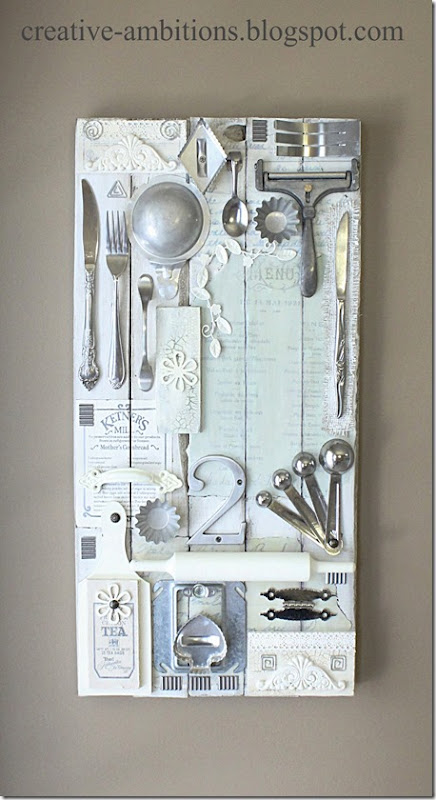 Mixed Media Kitchen Art