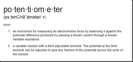 Potentionmeter