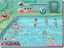 jogos de nadar - aula de natação