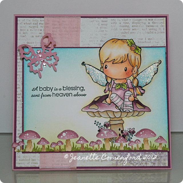 CC designs baby card