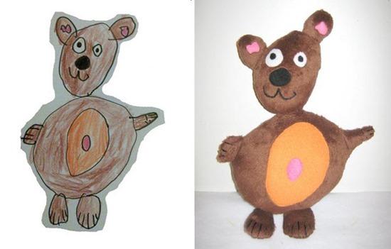 Brinquedos de desenhos de crianças (1)
