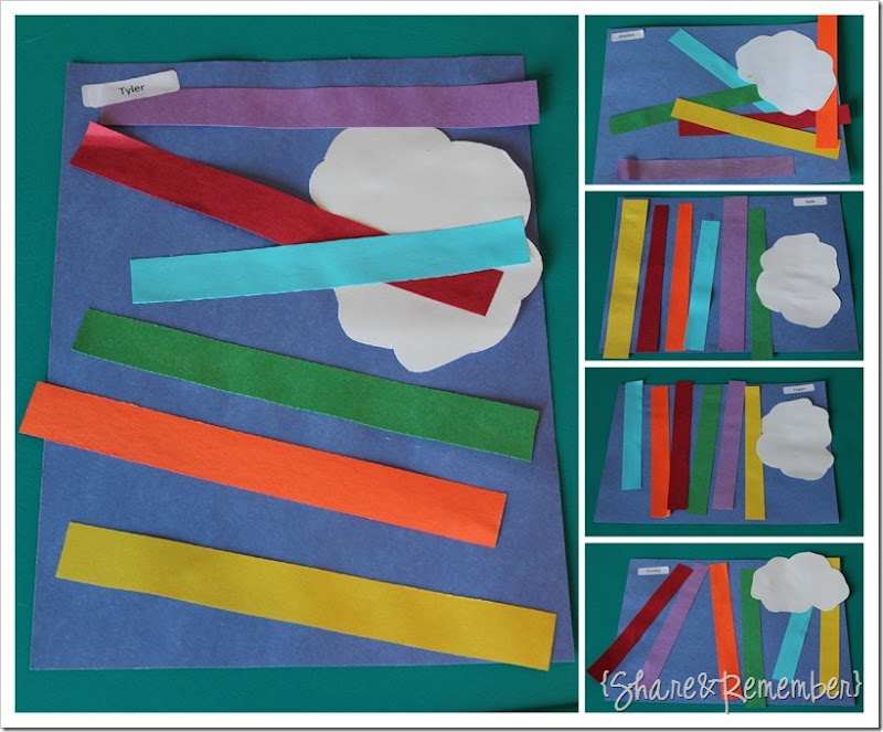 Rainbow Art Project for Preschoolers