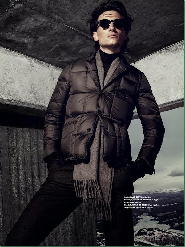 Matt Clunan by Kalle Gustafsson for King Magazine