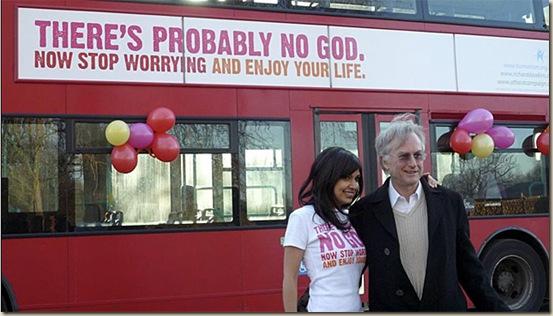 buses ateos cvristianismo dawkins