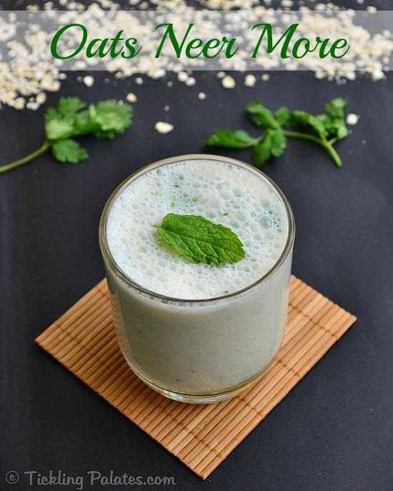 Oats Buttermilk Porridge Recipe
