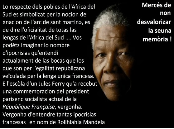 Nelson Mandela comentari