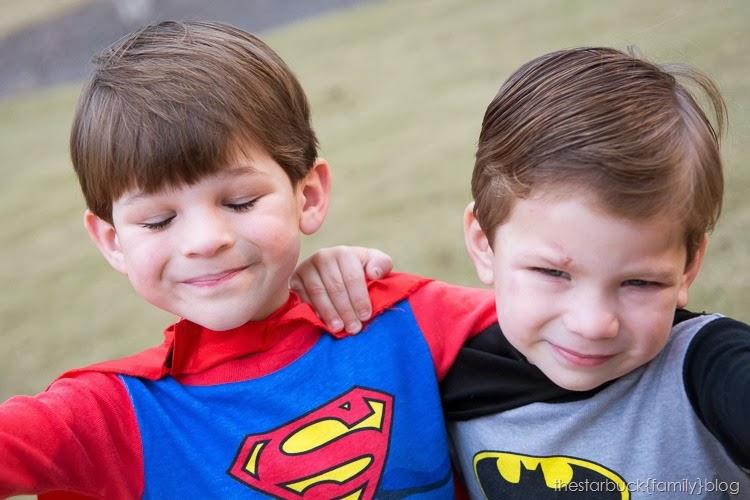 Superman and Batman Halloween blog-3