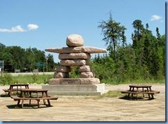 8074 Ontario Trans-Canada Highway 17 Vermilion Bay - Inukshuk