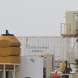 Les deux containers réfrigérés (Allu...) pour les corps des victimes