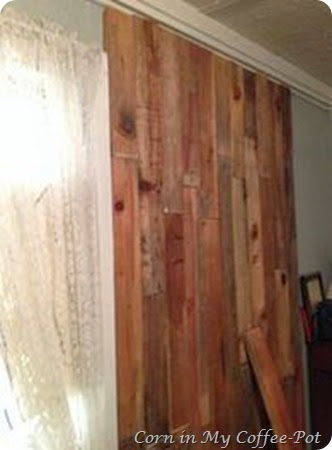Wood Wall project