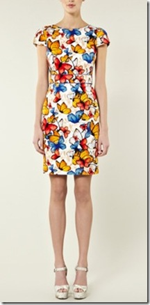 WH butterfly dress