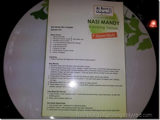 Nasi Arab Mandy Kambing 4