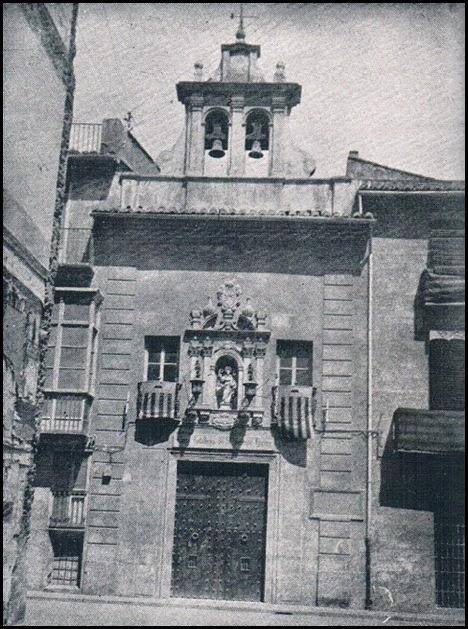 Casa natalicia de Sant Vicent. Fachada. Años 30
