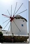 Os moinhos de vento, muito utilizados para moer trigo.