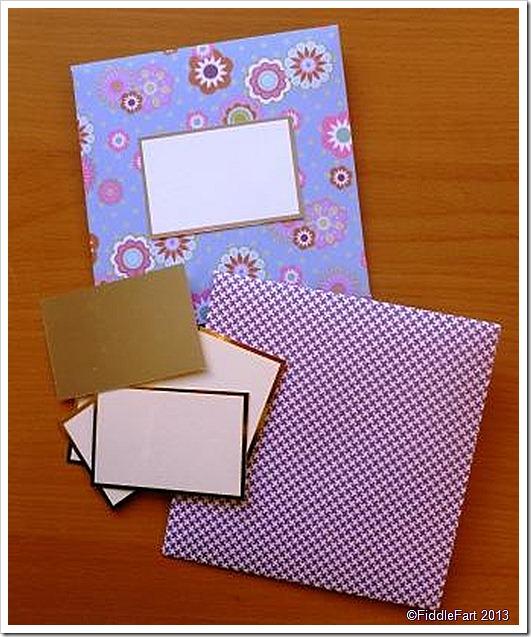 handmade notelets