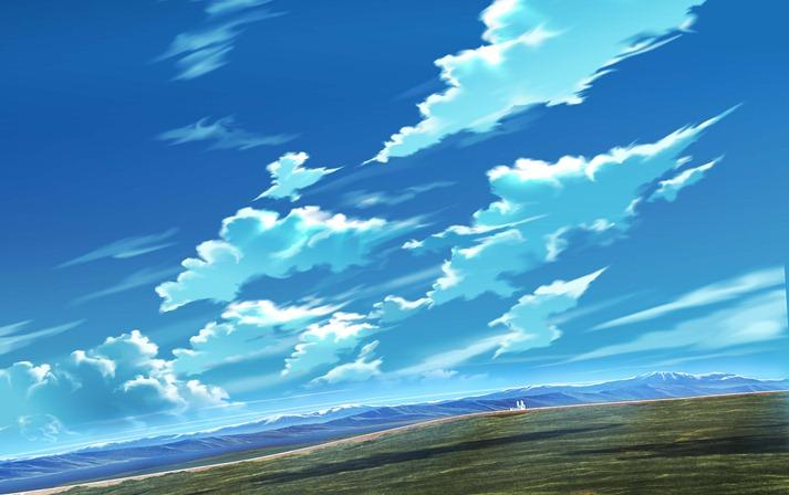 青空地平-横