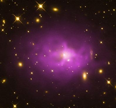 PKS 0745 no óptico e raios X