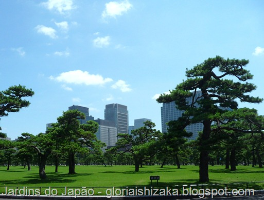 Jardins no Japão - Jardim do Palácio Imperial - Glória Ishizaka 2