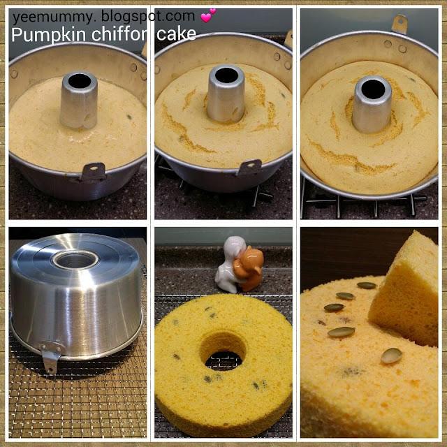 Pumpkin Chiffon Cake 南瓜戚風蛋糕