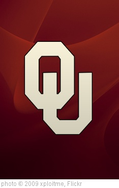 'Oklahoma Sooners iPhone wallpaper' photo (c) 2009, xploitme - license: http://creativecommons.org/licenses/by-sa/2.0/