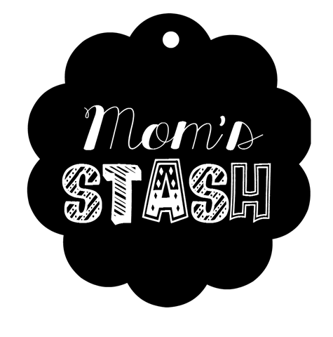Mom's Stash Printable Label GingerSnapCrafts.com