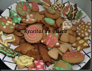 Bolachinhas coloridas de Natal