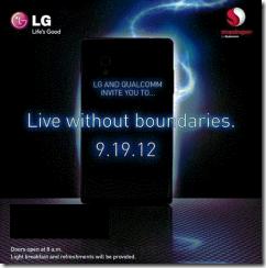 LG Event Sept. 19