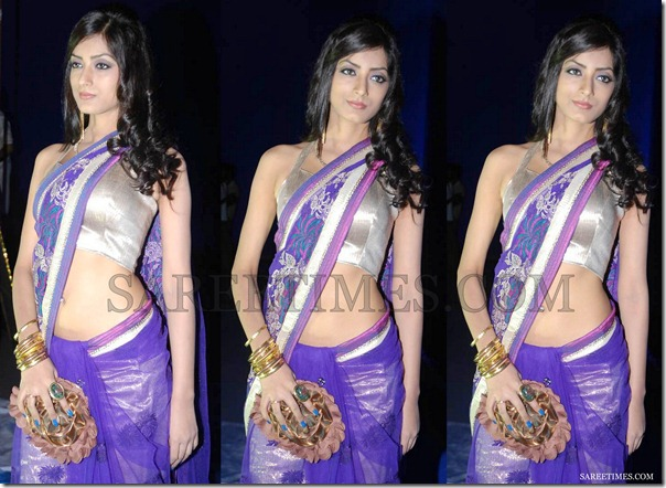 Ruby_Purple_Saree